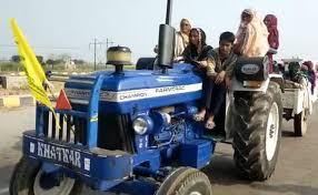 Women Take The Wheel In Haryana To Lead Tractor Rally Against Farm Laws